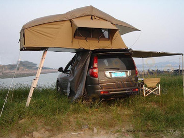Vehicle Tents Vehicles Roof Top Tent With Side Awnings SRT01E