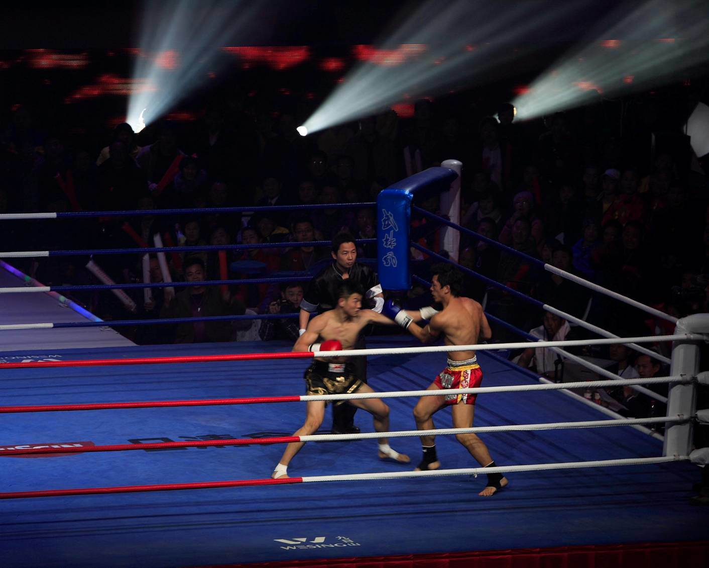 China International Standard Competition Boxing Ring Upbr