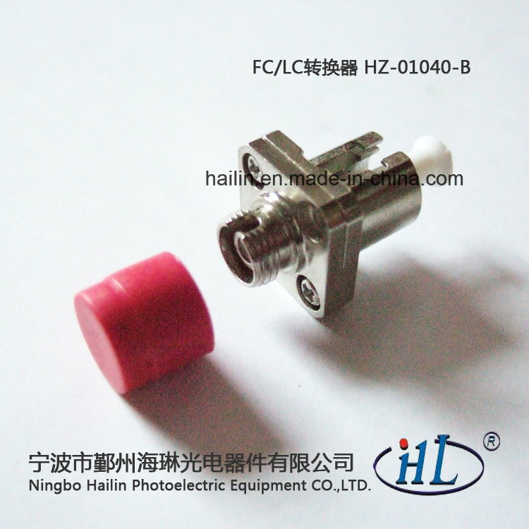 FC-LC PC Fiber Optic Converter Adapter for Instrumentation Equipment