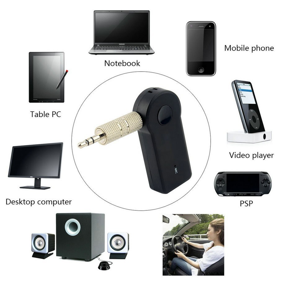 Hot Sell Audio Transmitter and Receiver USB Bluetooth Music Receiver Bt310, Bluetooth Music Reciever for Phone pictures & photos