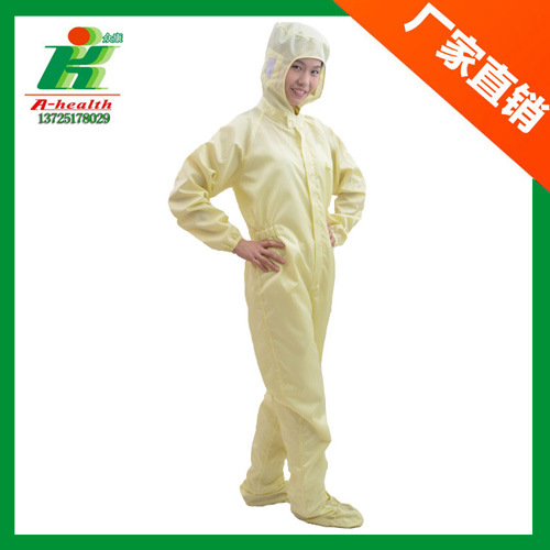 ESD Working Coverall, Anti-Static Work Overall Garment, Cleanroom Work Clothes