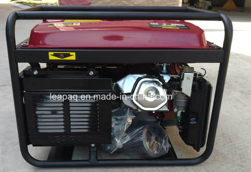 5.0 Kw Electric Start Portable Power Gasoline Generator pictures & photos