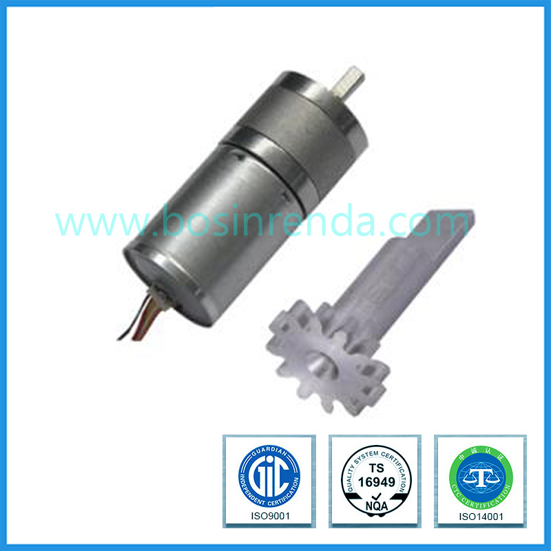 China Low Noise 25mm Gearbox High Torque Cw/Ccw 12V 300rpm 25mm DC