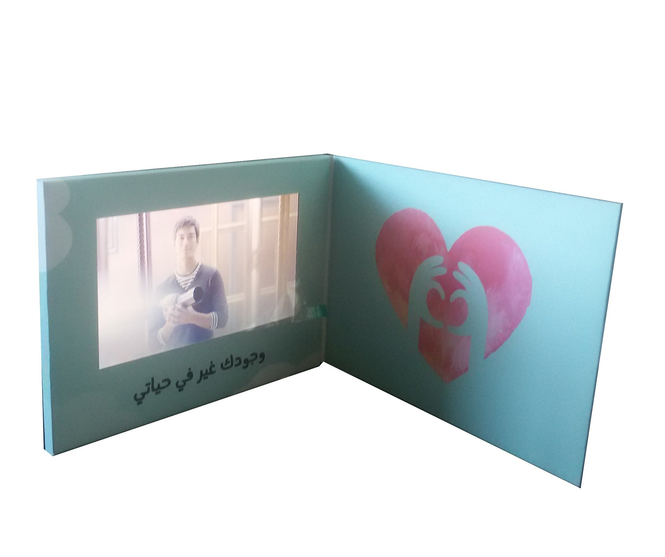 China Advanced Custom Lcd Screen Video Greeting Cards China Video