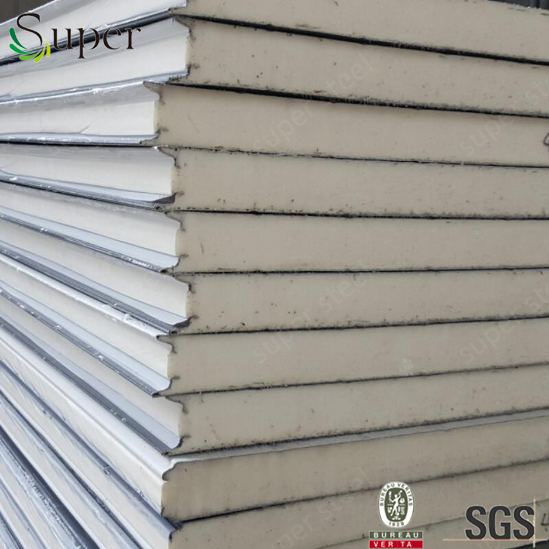 Fireproof Insulated Wall PU Sandwich Panel pictures & photos