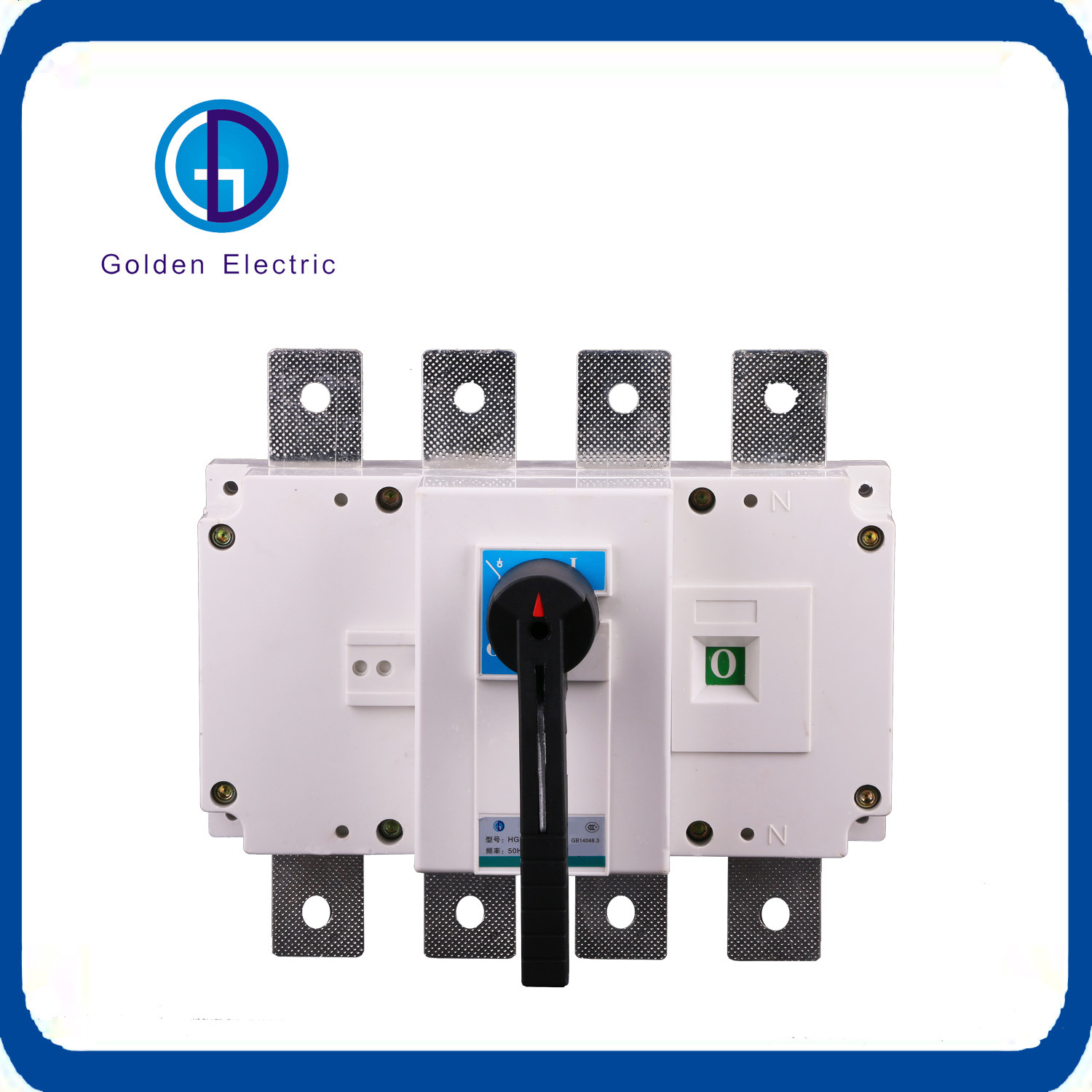 China 250A 3 Pole Load Disconnect Switch AC/DC Main Isolator - China ...