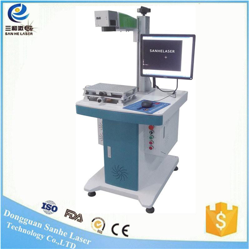China 30W20W Fiber Laser Marking Engraver Machine iPhone ABS PVC ...
