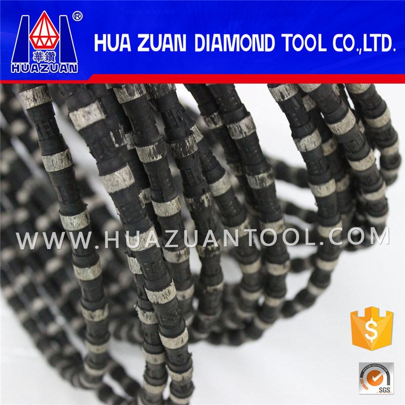 China Poland 11.5mm Cutting Diamond Wire Saw 40 Beads Wire Saw for ...