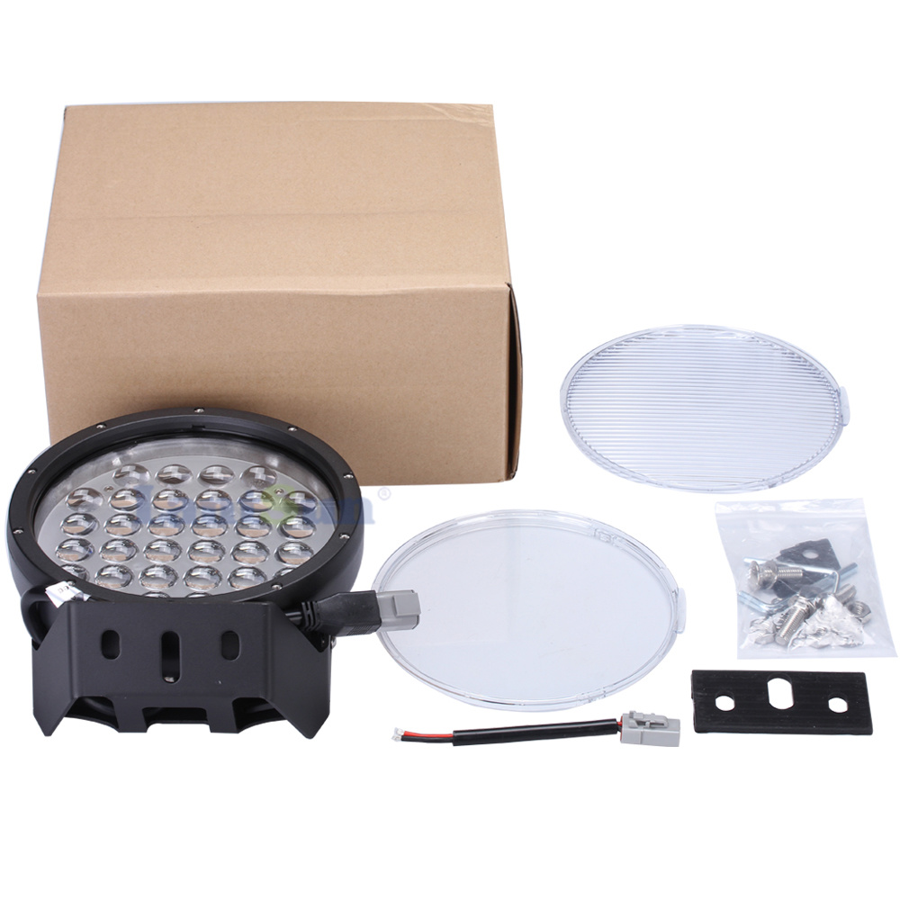 "9"" Inch 320W Round Offroad LED Driving Light for Truck Tractors pictures & photos"