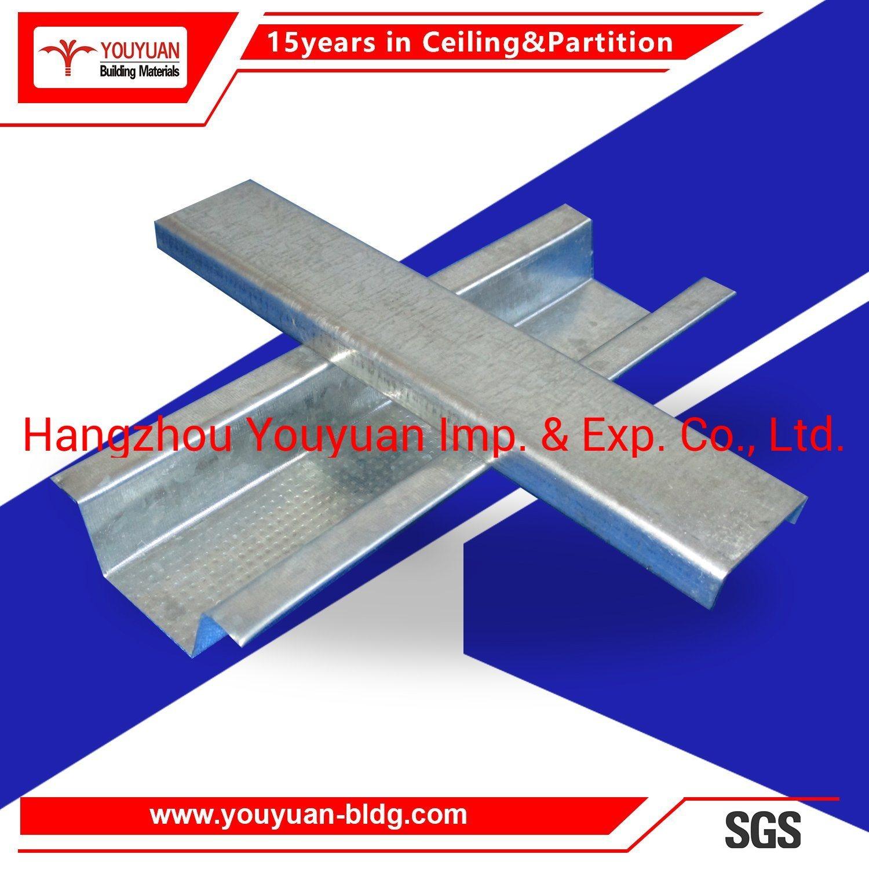 Hot Item Suspended Ceiling Materials Light Steel Keel
