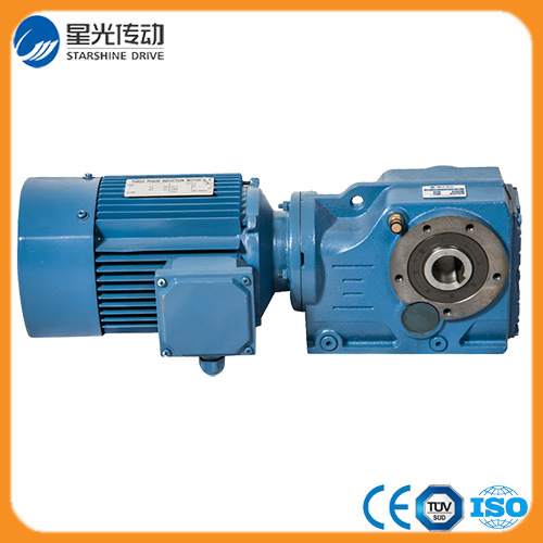 1.5kw Input Power Helical Bevel Gear Reducer