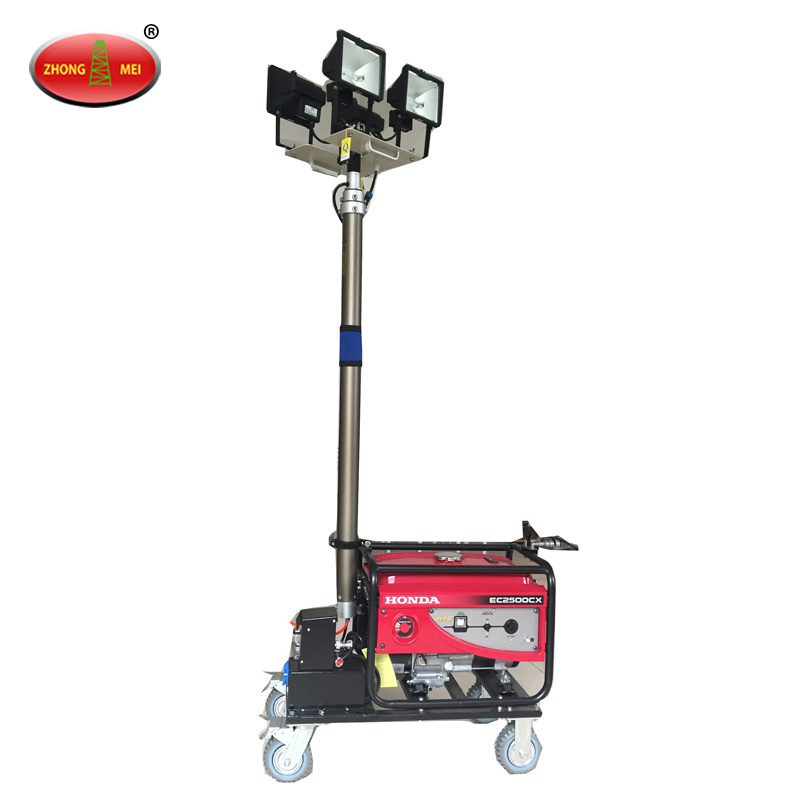 Portable Remote Control Mobile Halogen Lamp Light Tower pictures & photos