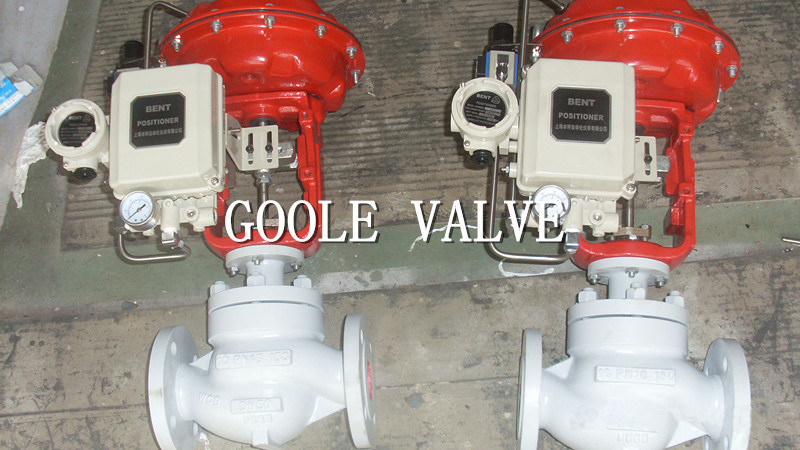 Pneumatic Single-Seat Globe Control Valve (GAZJHP) pictures & photos