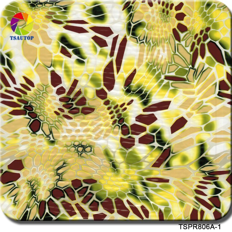 China Tsautop 0 5m/1m Width Camouflage Hydro Dipping Film