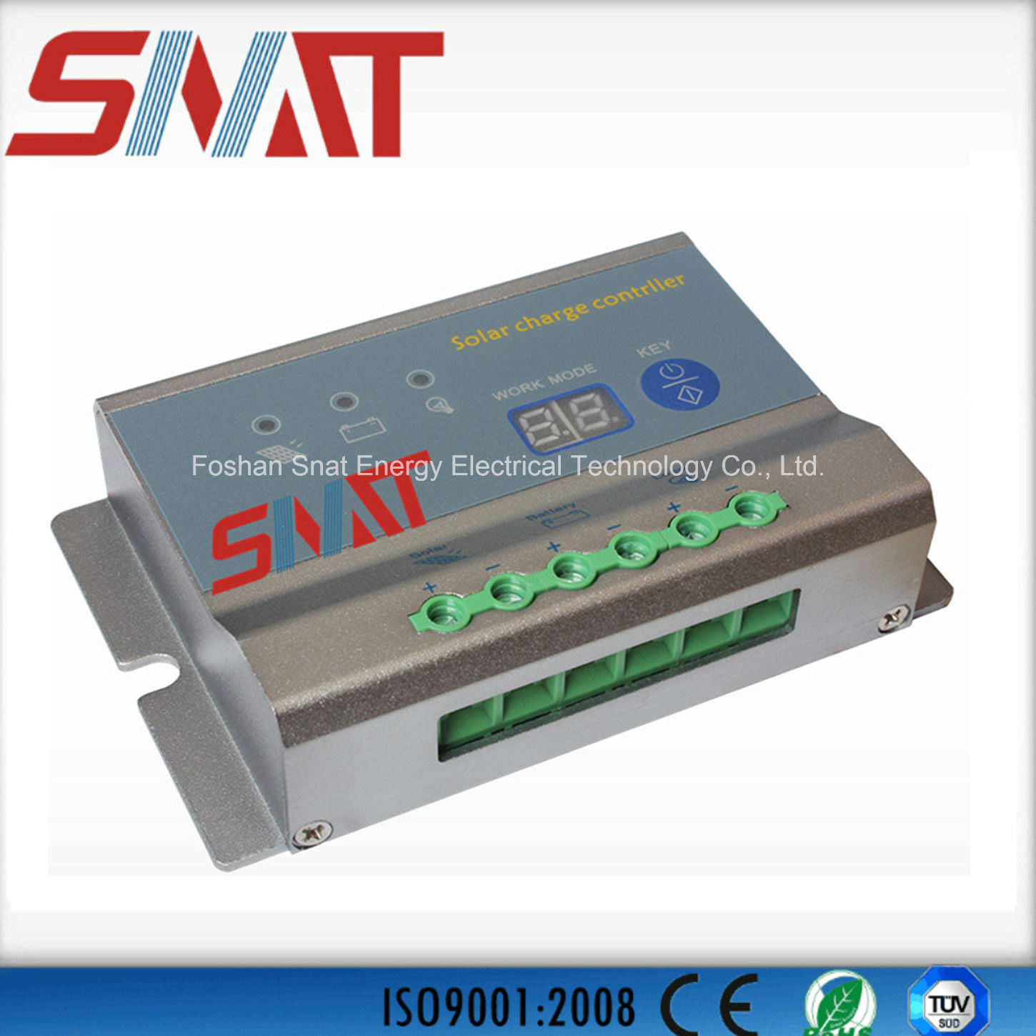 China 10a 20a 30a 12v 24v Pwm Solar Controller For Street Light Charge
