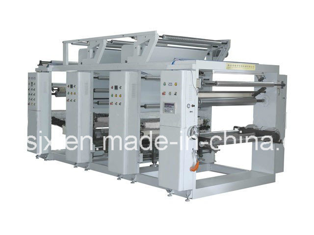 Double Colour Plastic Film Gravure Printing Machine