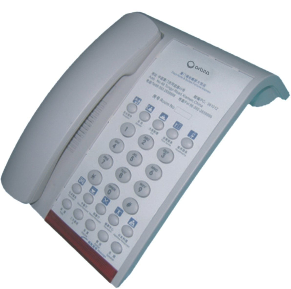 Orbita Nice Design Hotel Cord Telephone for Hotel Guest Room pictures & photos