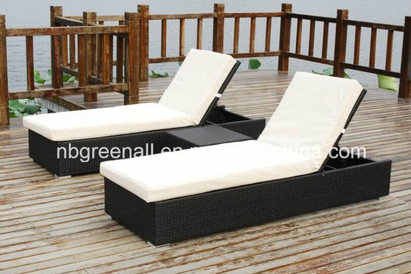 Wicker Aluminum Outdoor Rattan Beach Lounge Leisure Chair pictures & photos