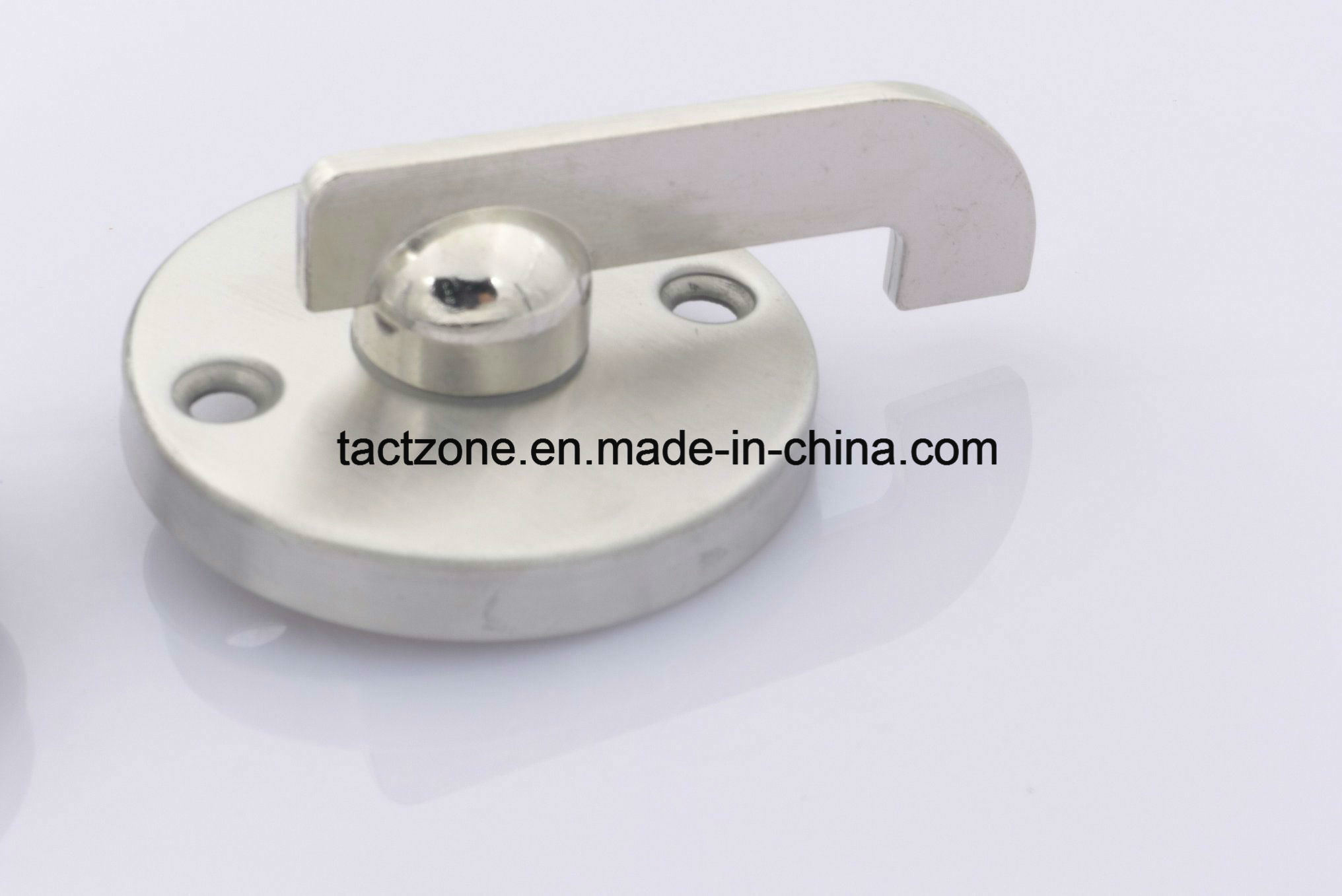 China Guangdong Supplier Toilet Cubicle Partition Hardware Door Lock ...