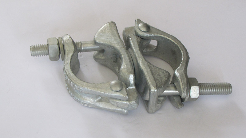 Drop Forged Scaffolding Swivel Coupler British Type for Pipe Fittings