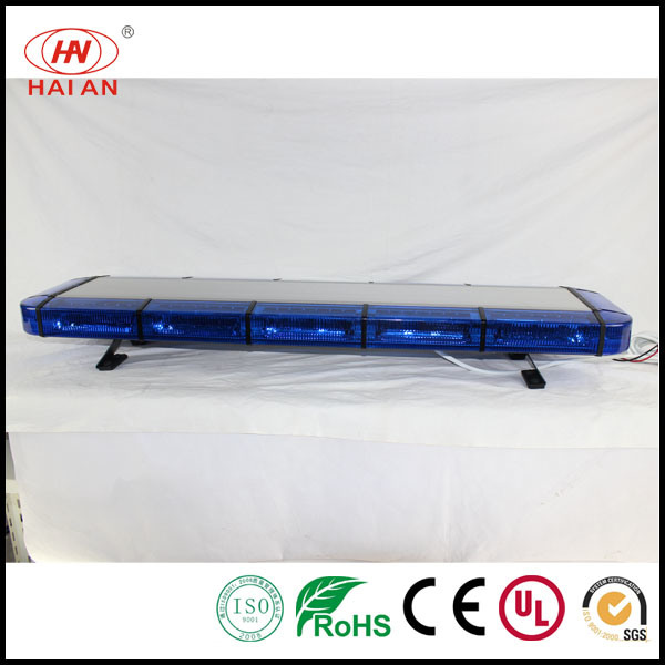 China police car roof hazard led warning light bar emergency caution police car roof hazard led warning light bar emergency caution traffic warning light row type lights open up the road lightbar aloadofball Choice Image