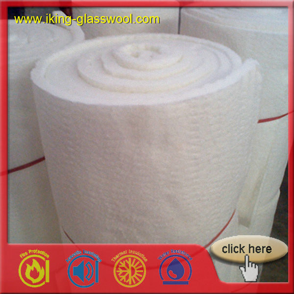 128 Density (kg/m) and Alumina Silicate Insulation Ceramic Fiber Blanket