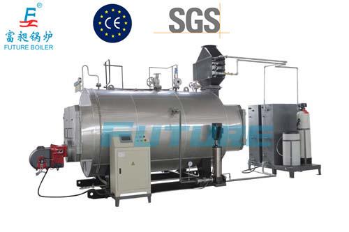 China Horizontal Chamber Combustion Steam Boiler - China Steam ...