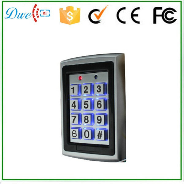 125kHz Password Illuminated Keypad Standalone Controller 1000 Users