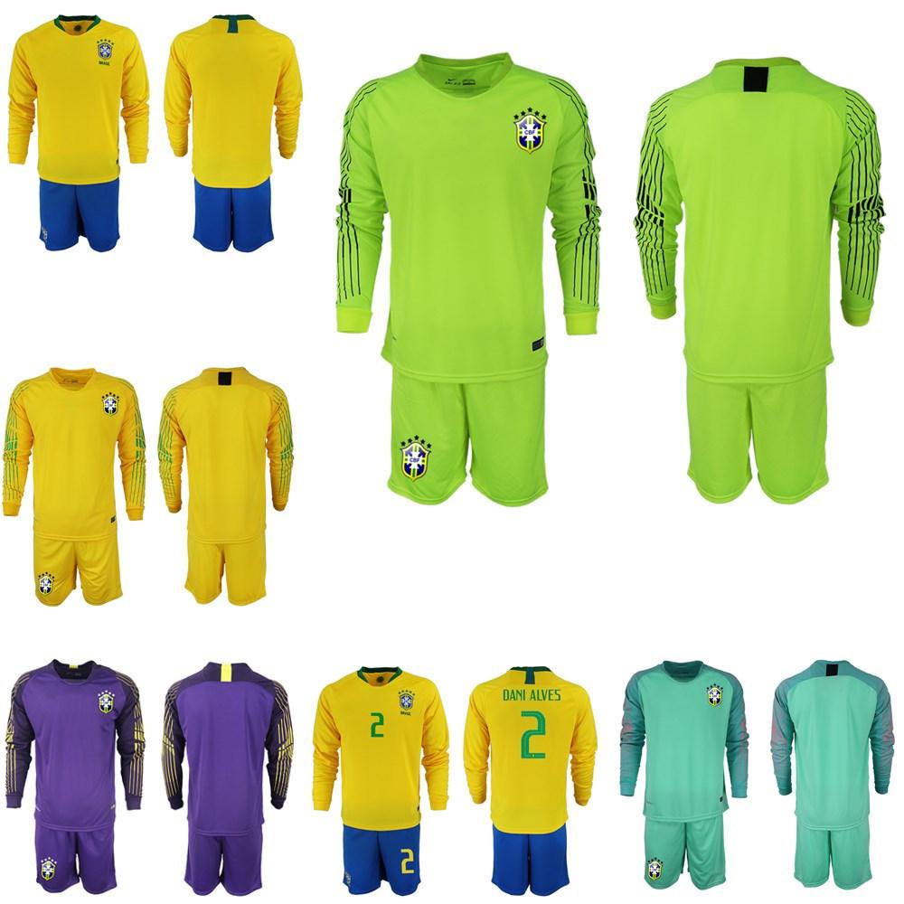huge discount 3f8ac ad03a [Hot Item] 2019 Copa America Brazil Long Sleeve Soccer Jersey Uniform P.  Coutinho