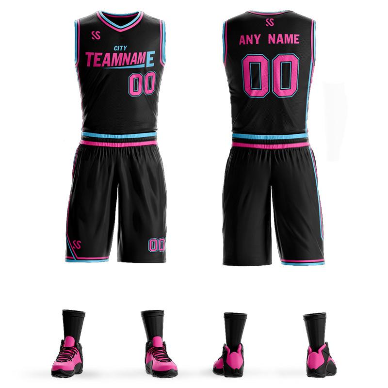 [Hot Item] Wholesale Latest Design Custom Logo Sublimated Cheap Basketball Uniforms Jersey