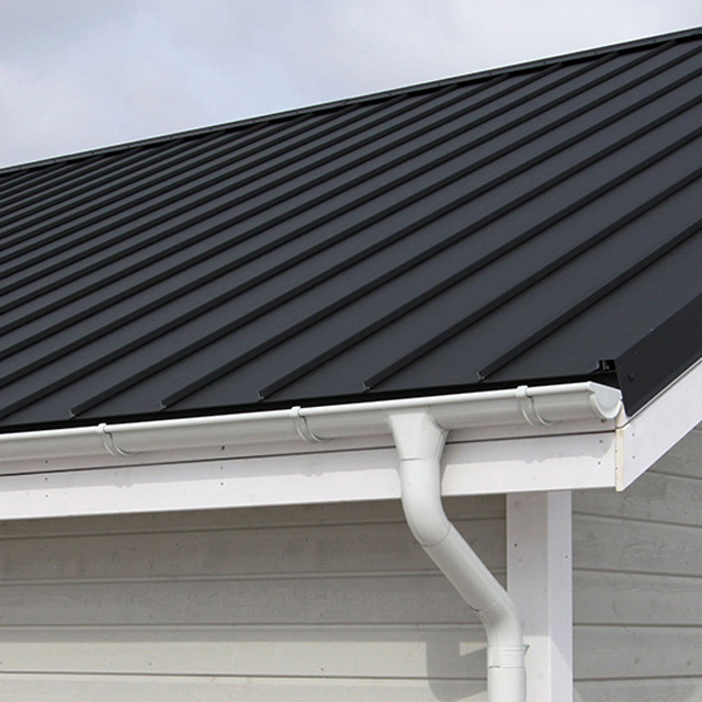 House Roof Used Aluminum Rain Gutter for Downsput - China Aluminum ...