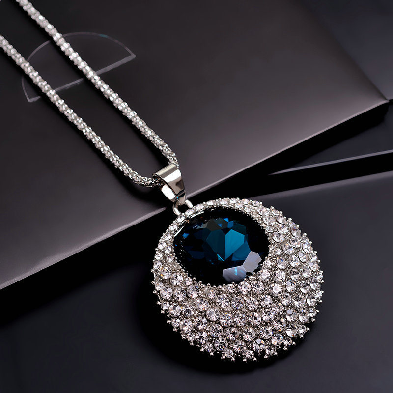 Charming Crystal Stone and Alloy Fashion Necklace Fashion Pendant Fashion Jewelry Fashion Accessories pictures & photos