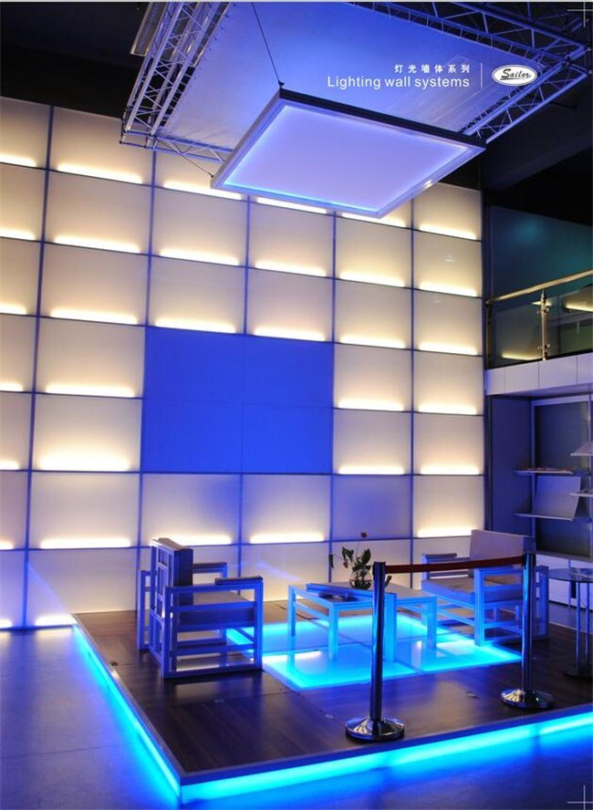 Exhibition Stand Lighting : China led lighting wall system box for indoor exhibition stand expo