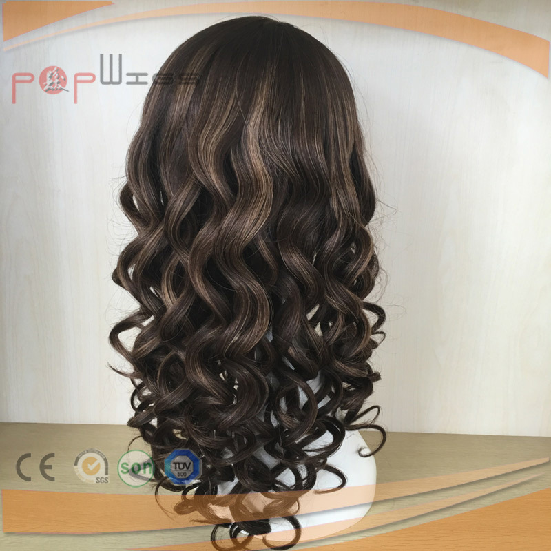 PU Custom Silk Top Human Hair Women Wig (PPG-l-0658) pictures & photos