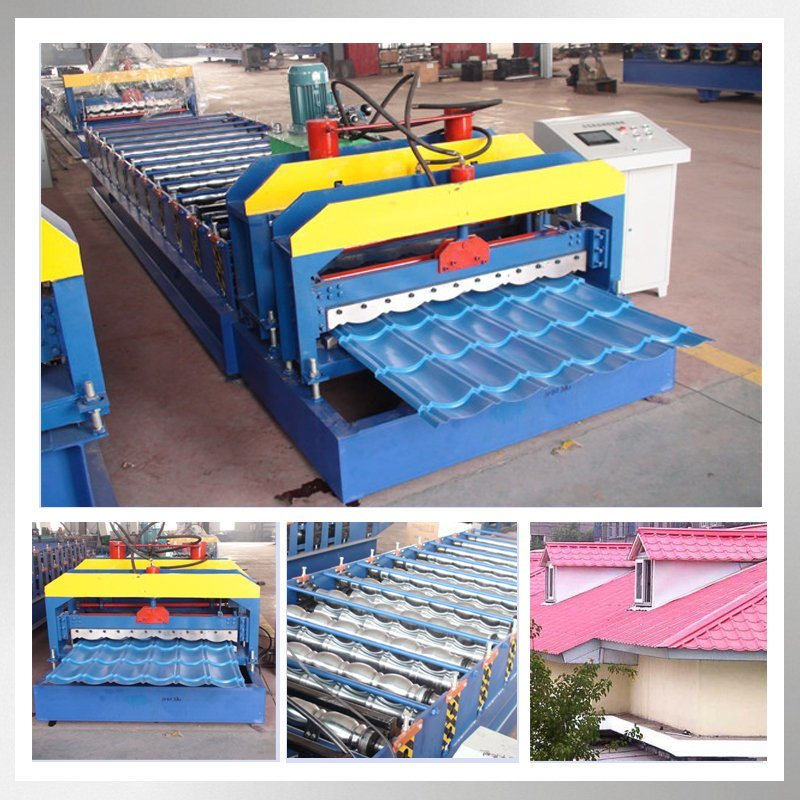 Galvanized Glazed Roof Tile Making Machinery pictures & photos