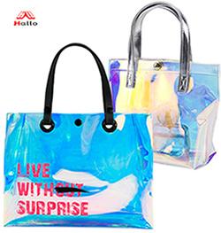 Large Capacity Clear Beach Tote Bag