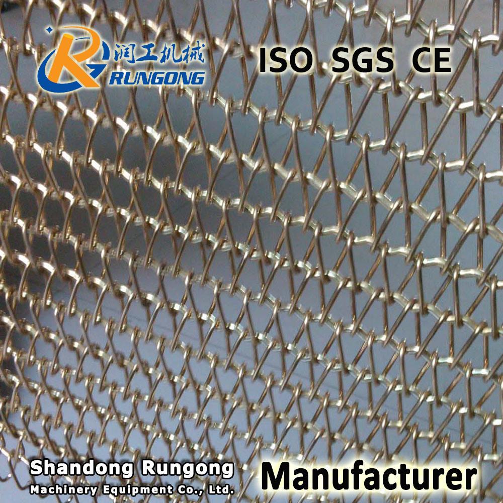 China Manuafcturer Woven Wire Mesh Conveyor Belt - China Balanced ...