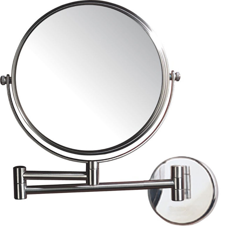 Double Sided 4 Times Bathroom Magnifying Mirror