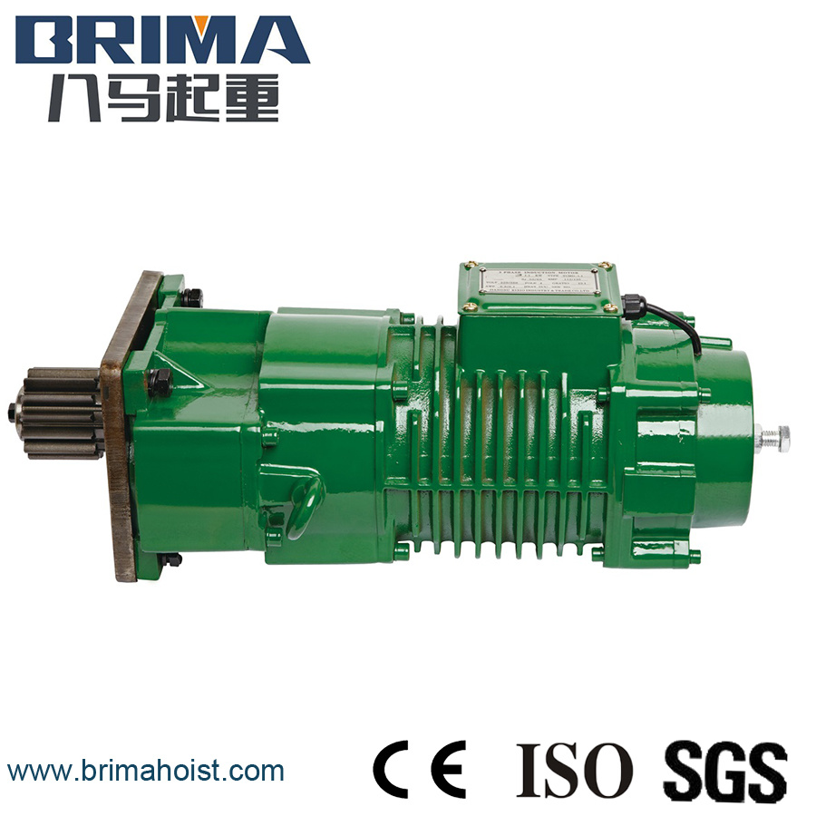 0 4kw High Performance Electric Crane Geared Motor Without Buffer Bm 050