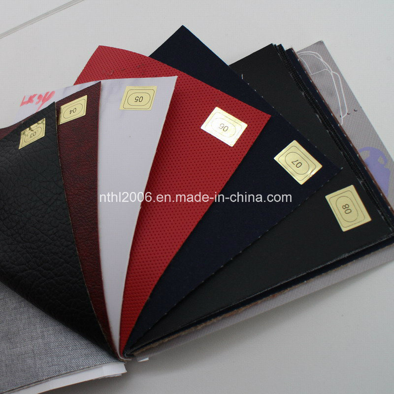 Leather Fabric for Sofa PVC Leather for Seat Stocklot pictures & photos