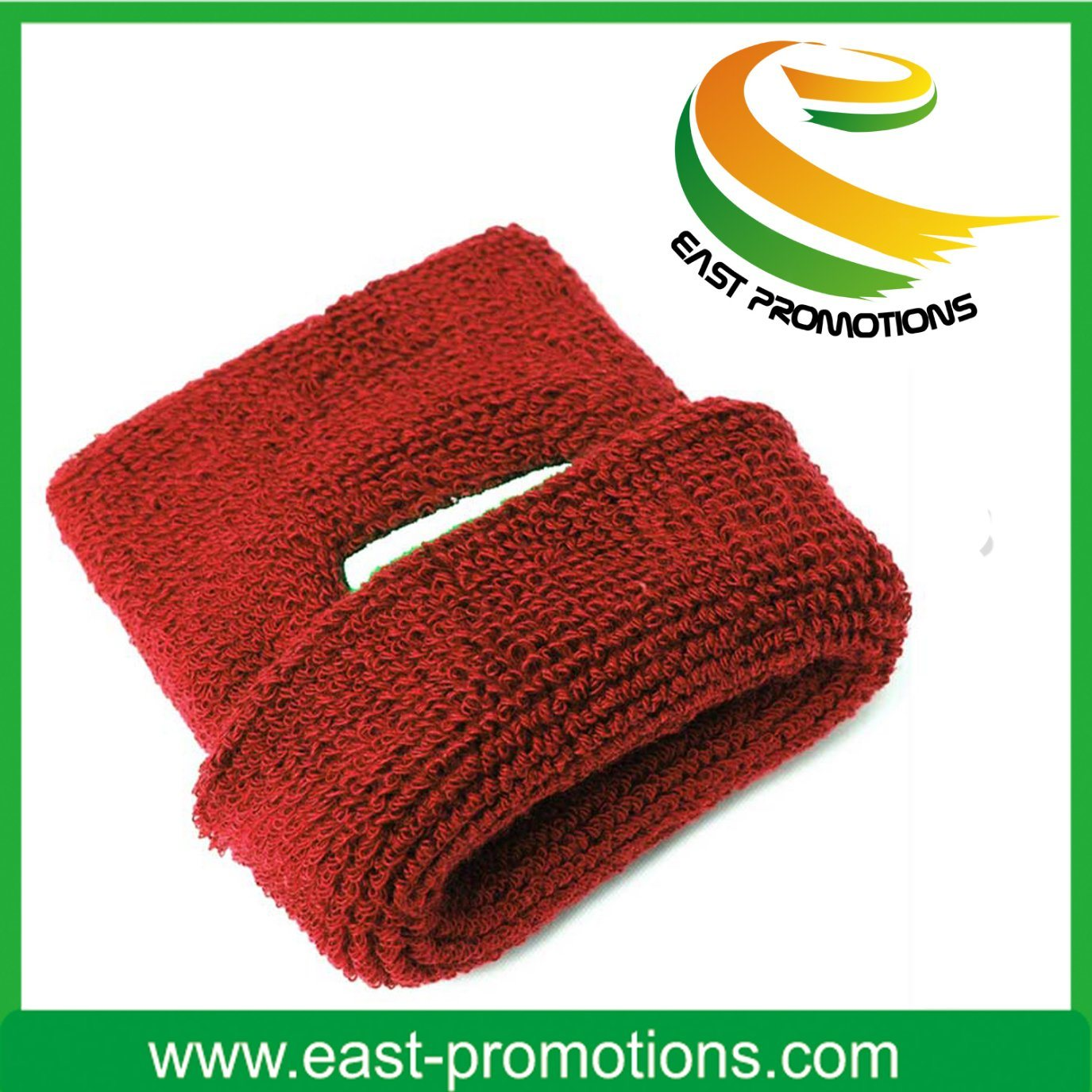 Promotion Sport Cotton Wristband Sweatband Headband Set pictures & photos