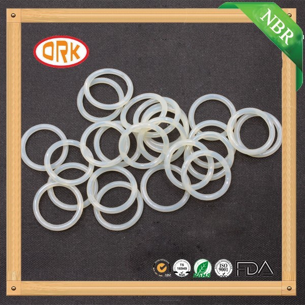Food Grade Transparent Soft Silicone Rubber O Ring