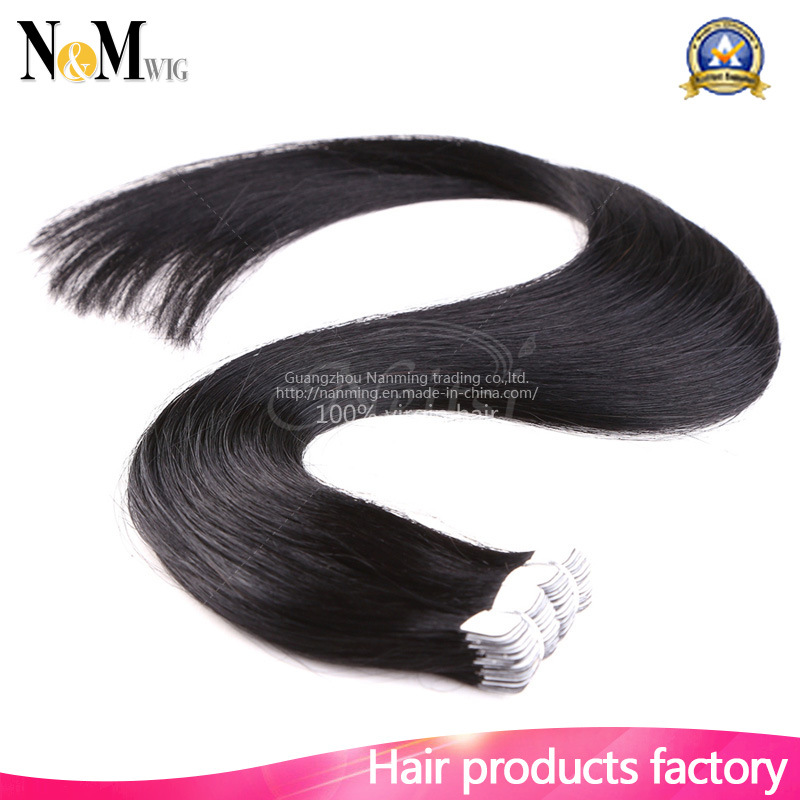 China Virgin Hair Wholesale Suppliers Sikly Straight Double Tape