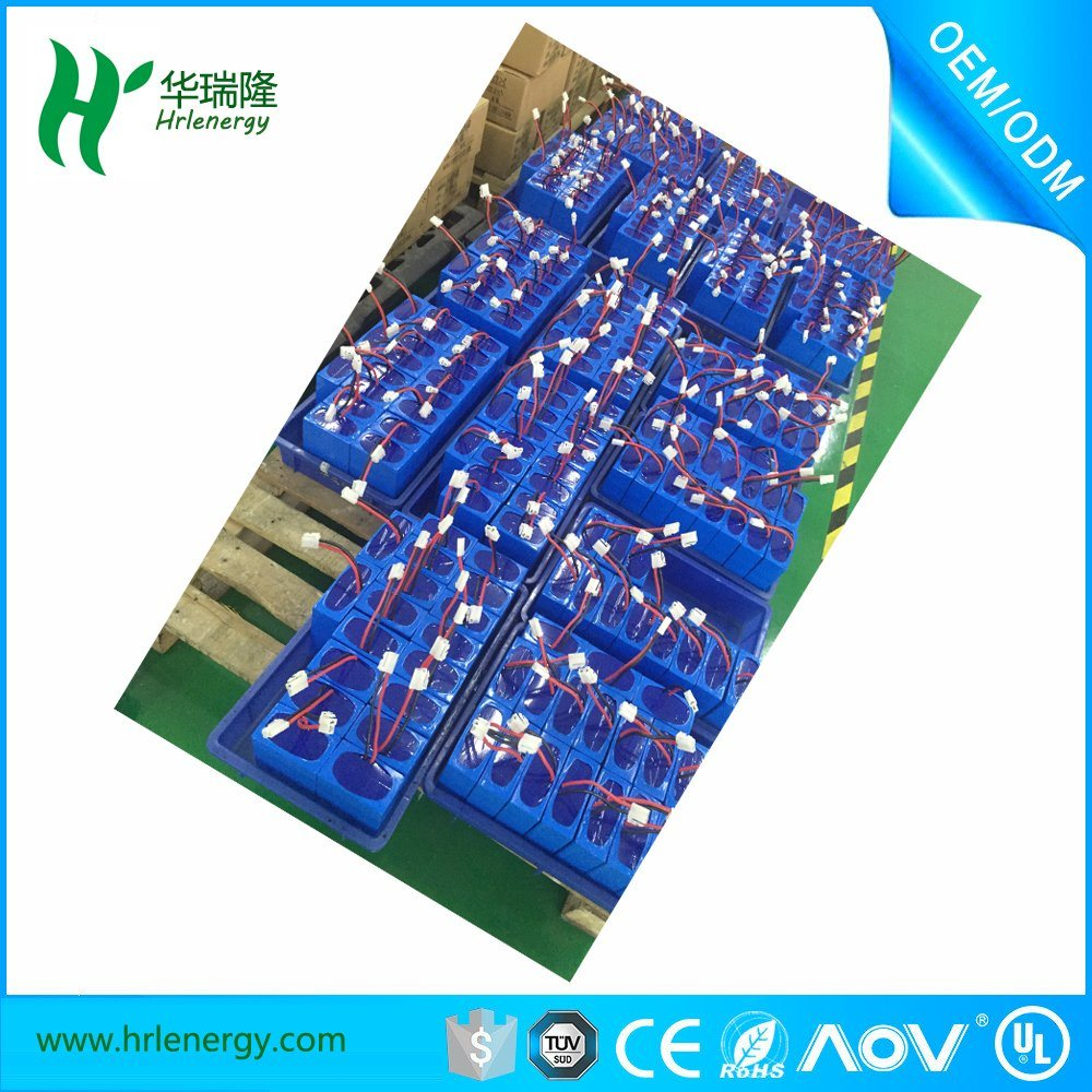 Lithium Polymer Battery 11.1V 12.5ah Electric Bike Battery pictures & photos