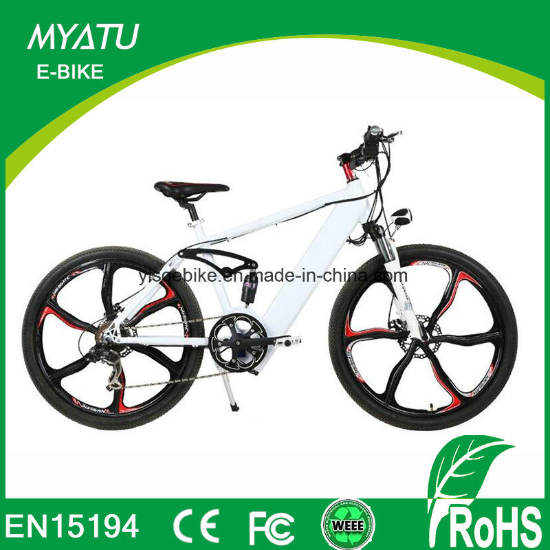 China 26 Inch Mountain Electric Bike Bicycle with Integrated ...