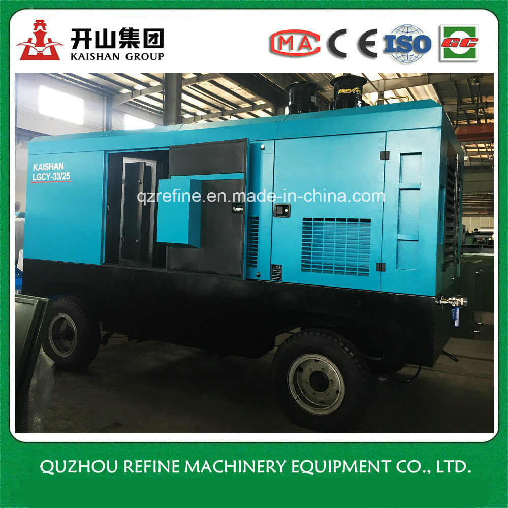 [Hot Item] Kaishan LGCY-33/25 Cummins Large Air Capacity Double Stage Screw  Air Compressor