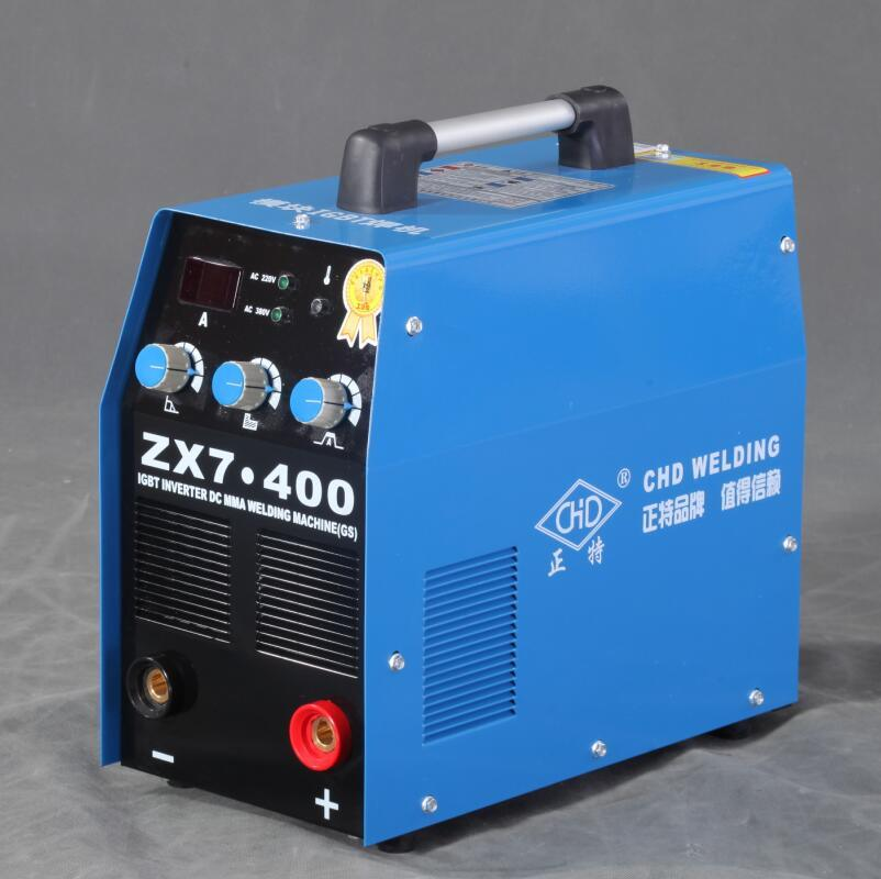 220V ZX7-200 Mini Portable MMA ARC Welder IGBT  DC Inverter Welding Machine GS