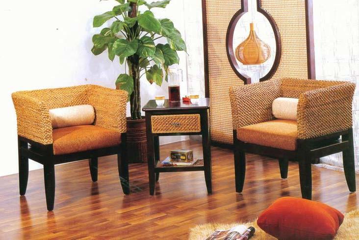 China Water Hyacinth Furniture Pt 3305, Water Hyacinth Furniture