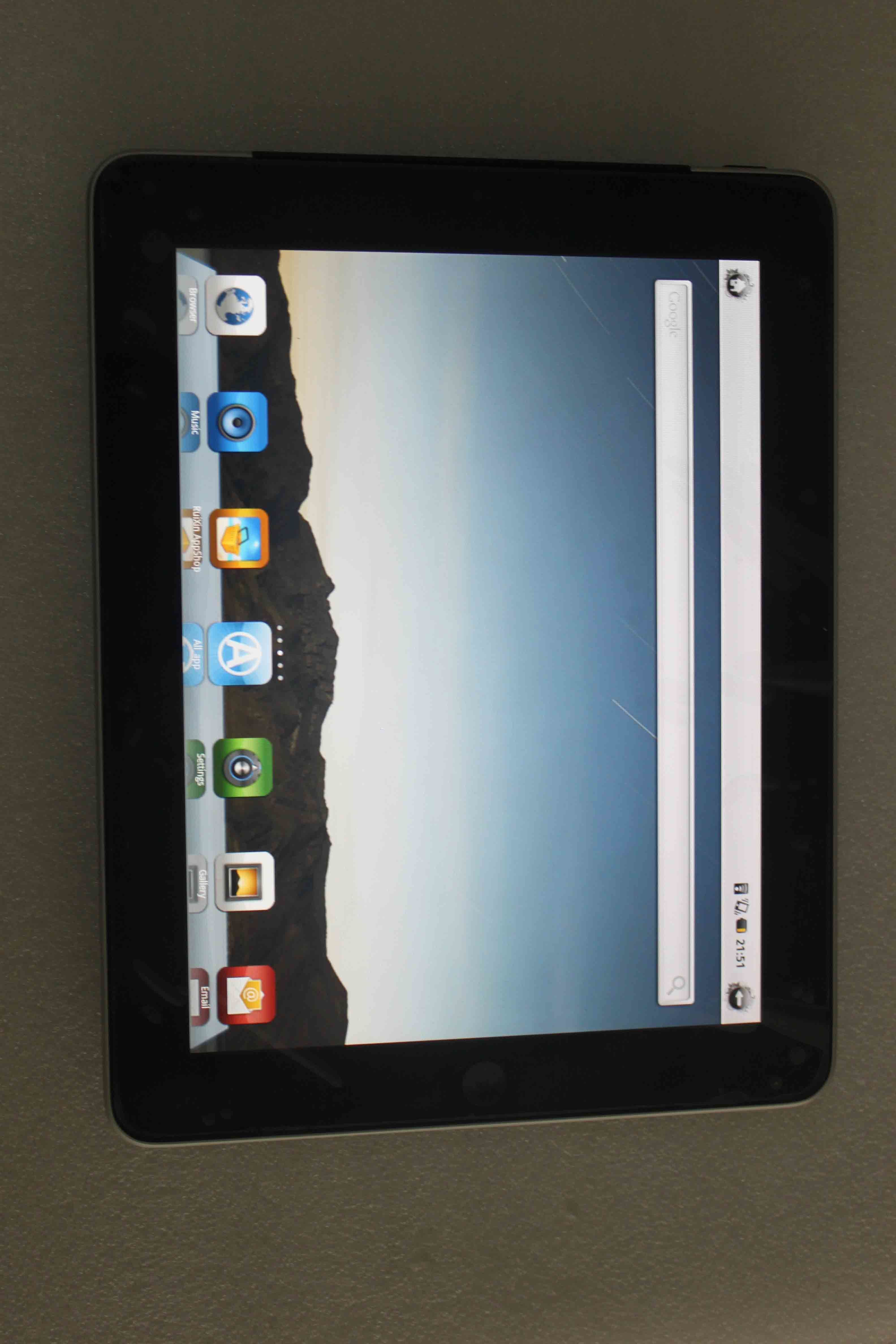 China 9 7 Inch Epad Capacitive Tablet PC Freescale Imx515