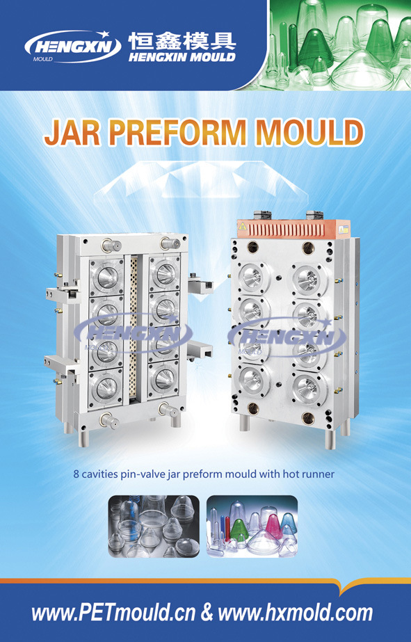 Jar Wide Mouth Container Preform Mold